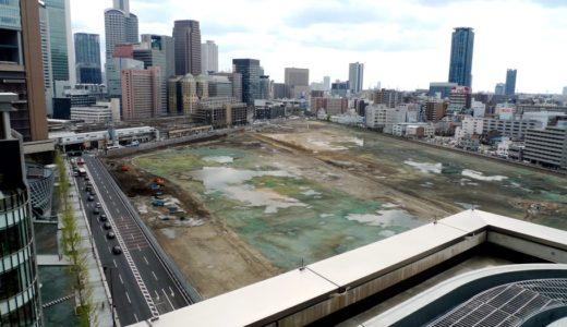 うめきた二期地区として再開発が予定されている「JR貨物梅田駅」解体工事 15.04