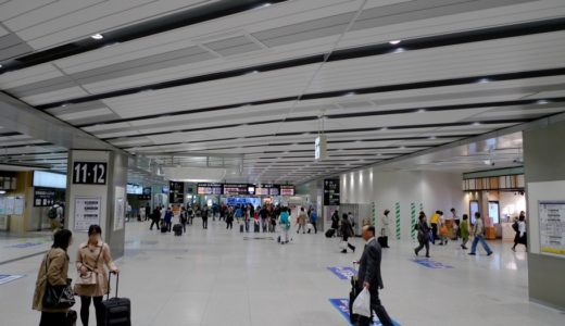 JR新大阪駅コンコース改良工事 15.04