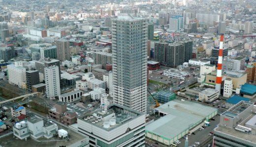 プレミスト札幌ターミナルタワーの建設状況 15.04