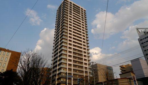 竣工したブランズタワー札幌