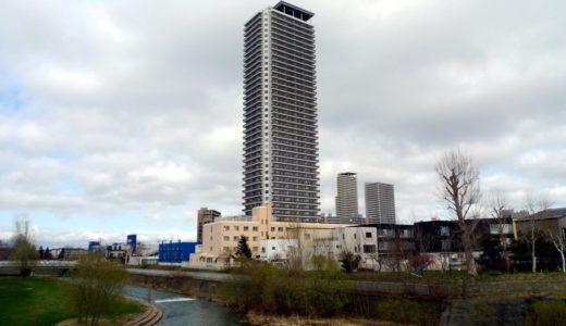 竣工したプレミスト琴似スカイクロスタワー