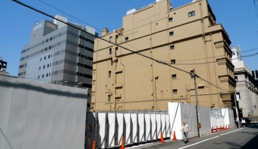 (仮称)中央区高麗橋2丁目集合住宅新築工事の状況 15.05
