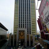 ザ パーク フロント ホテル アット ユニバーサル・スタジオ・ジャパンの低層部が姿を現す!
