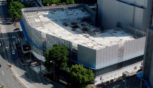 梅田1丁目1番地計画ー新阪急ビル解体工事の状況 15.05