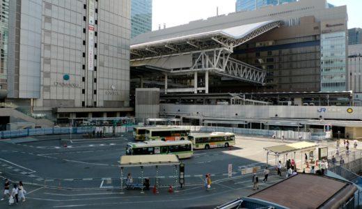 大阪駅南広場整備の状況 15.05