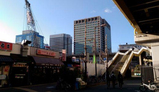 ユニゾイン新大阪新築工事の状況 16.03
