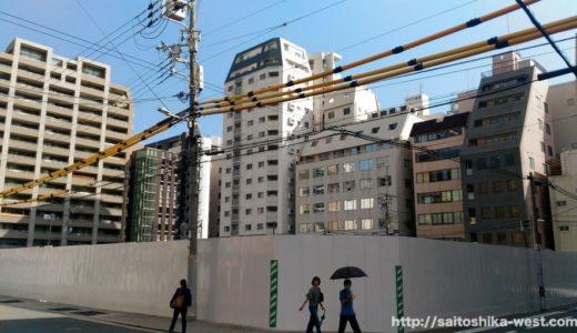 阪急不動産が南森町エリアに地上37階建てのタワーマンションを計画!(仮称)大阪市北区東天満2丁目計画の状況 17.09