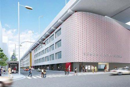 船場センタービルの外壁リニューアル工事が来月中旬に着工!