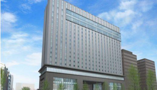 (仮称)大阪エクセルホテル東急が入居する(仮称)積和不動産関西南御堂ビルの状況 18.02