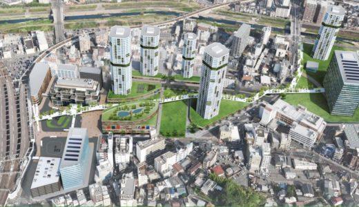 枚方市駅周辺再整備基本計画アドバイザー公募、優秀者4グループを選定。枚方市駅周辺が未来都市に!?
