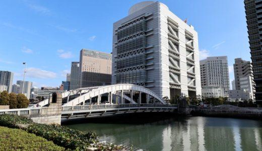 堂島大橋が車道通行止めに。2018年2月12日22時〜から2020年1月末まで2年間を予定。