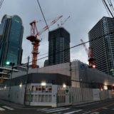 ブランズタワー梅田 North(旧ラマダホテル大阪跡の再開発)の建設状況 18.02