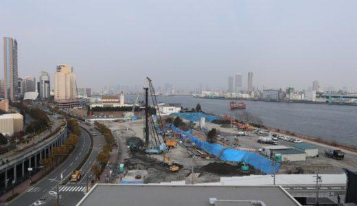 USJ近くに新たな巨大立体駐車場が建設開始。新日鉄興和不動産、大阪市此花区立体駐車場計画(桜島第3駐車場新築工事)の状況 18.02