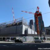 ブランズタワー梅田 North(旧ラマダホテル大阪跡の再開発)の建設状況 18.03
