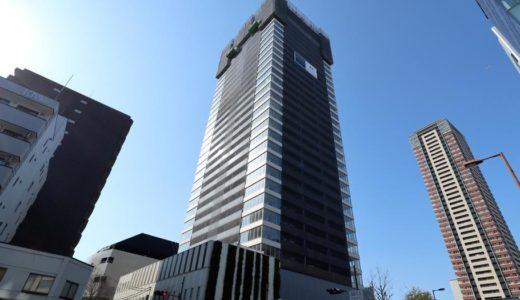 グランドメゾン新梅田タワーの建設状況 18.03