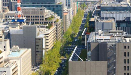 御堂筋の側道2車線を廃止して歩道として開放する提言案がまとまる。大阪都心のメインストリートはクルマから人へ。