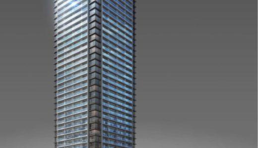 Brillia Tower 西新は、地上40階、高さ約137m、総戸数306戸の九州初の地下鉄駅直結タワーマンション