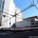 (仮称)ユニゾインエクスプレス大阪南本町の建設状況 18.03
