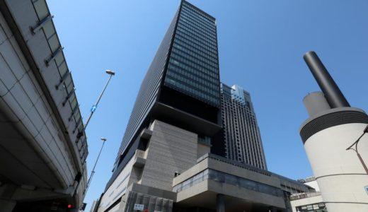 「なんばスカイオ」(仮称)新南海会館ビルの建設状況 18.04