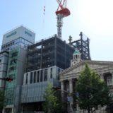 ザ・ビー 大阪心斎橋(仮称)が入居する(仮称)御堂筋プロジェクトの状況 18.04