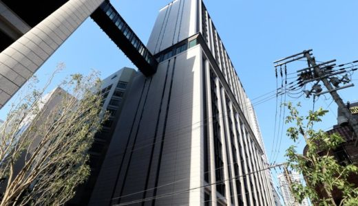 三菱東京UFJ銀行大阪ビル別館の建設工事の状況 18.04