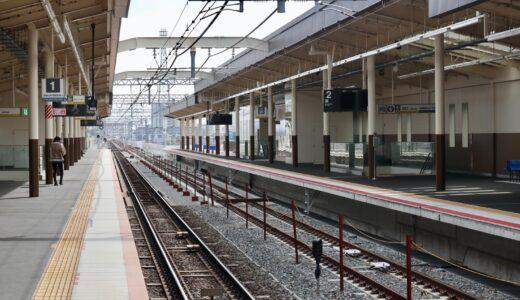 南海本線ー羽衣駅高架化工事は5月22日(土曜日)の始発列車から上り線(難波方面)を高架化!高師浜線は約3年間運休しバス代行輸送を実施
