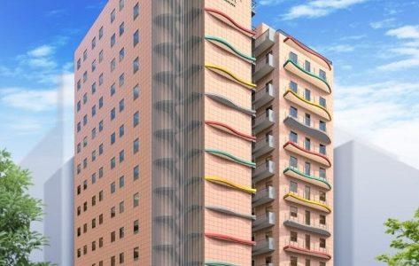 (仮称)サラサホテル新大阪建設工事の状況 18.05