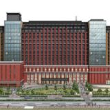武蔵野がJR桜島駅前に建設中の巨大ホテル(仮称)桜島1丁目ホテル計画の状況 18.05
