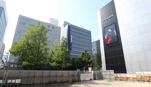 (仮称)大阪Mプロジェクト「ルイ・ヴィトン」が心斎橋筋2丁目の御堂筋沿いに建設予定の複合ビル計画の状況 18.04