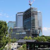 読売テレビ新社屋の建設状況 18.05
