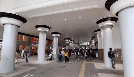 JR神戸線ー神戸駅耐震化&リニューアル工事の状況 18.05