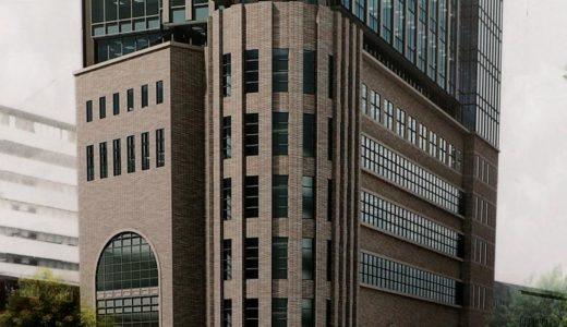 神戸阪急ビル東館新築工事の状況 18.05