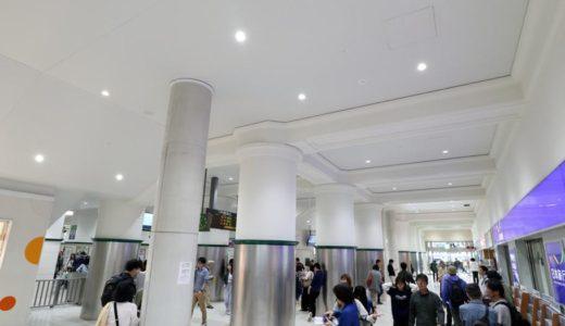 JR神戸線ー三ノ宮駅耐震化&リニューアル工事の状況 18.05