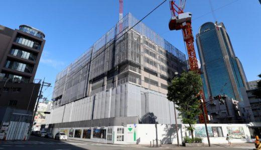 ブランズタワー梅田 North(旧ラマダホテル大阪跡の再開発)の建設状況 18.05