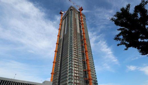 シエリアタワー千里中央(SENRITOよみうり)の建設状況 18.05