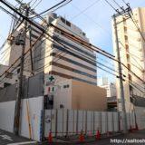 WBF新大阪ホテル」地上32階建て、高さ105m、日本一細い超高層タワーホテル計画の状況 18.05