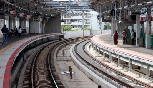 おおさか東線北区間(新大阪)延伸計画ー鴫野駅改良工事 18.05