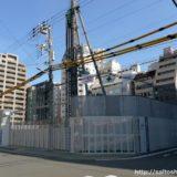 ジオタワー南森町(仮称)大阪市北区東天満2丁目計画の建設状況 18.05