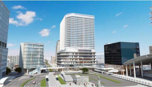 鹿児島中央駅前「中央町19・20番街区第一種市街地再開発事業」は2018年6月25日に着工!鹿児島県初となる地上100m超えの超高層ビルが実現へ
