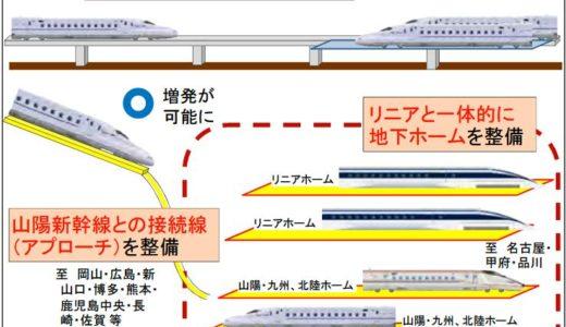 新大阪駅に地下ホームを建設し新幹線ネットワークのハブとする「地方創生回廊中央駅構想」が浮上!
