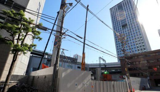 (仮称)ユニゾインエクスプレス大阪南本町の建設状況 18.06