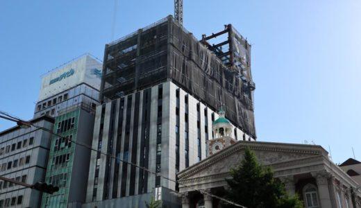 ザ・ビー 大阪心斎橋(仮称)が入居する(仮称)御堂筋プロジェクトの状況 18.06