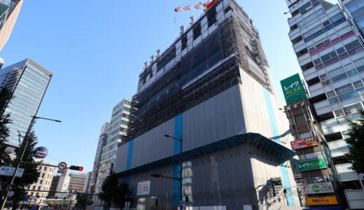 ホテルロイヤルクラシック大阪(仮称)の建設状況 18.06