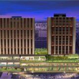 「ハイアットセントリック金沢」、長期滞在型ホテル「ハイアットハウス金沢」、分譲マンション「ザ・レジデンス金沢」の建設状況 18.07