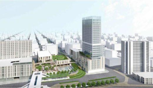 宇都宮駅東口地区整備事業の概要が判明。タイの最高級ホテル「デュシタニ」と「カンデオホテルズ」2つのホテルが入居!