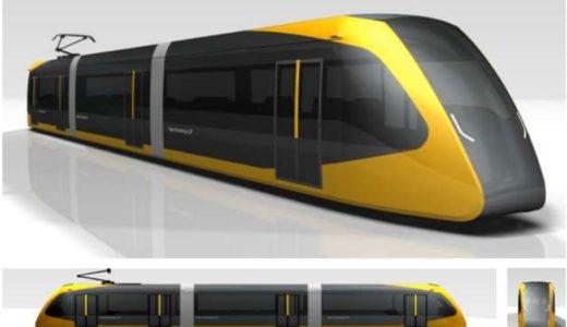 宇都宮LRT(ライトレール)の車両外観デザインが決定!