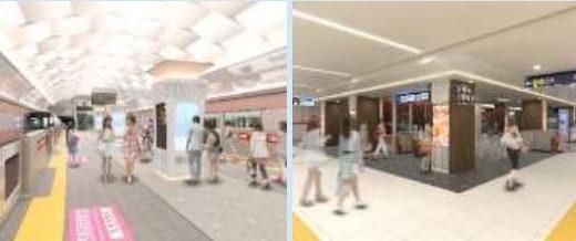 Osaka Metro(大阪メトロ)が御堂筋線9駅、中央線6駅のリニューアルを2024年度までに完了すると発表、投資額は200億円!