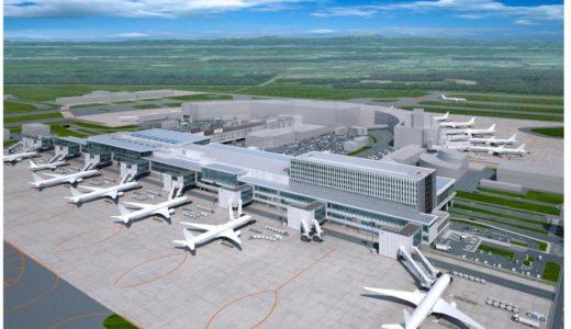新千歳空港、国際線ターミナルを2倍に拡張、ターミナル延床面積約12.4万㎡の本格的な国際空港に大進化!