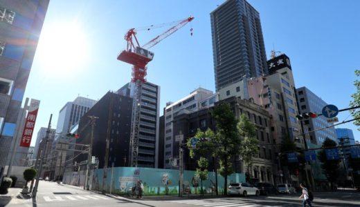 (仮称)北浜ビル『(仮称)北浜ビル建替計画』、神戸土地建物が建設中のシェアハウスの建設状況 18.06