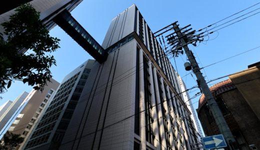三菱UFJ銀行大阪ビル別館の建設工事の状況 18.06